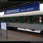 Bd 264, 50 54 29-41 467-3, DKV Brno, 19.11.2011, Olomouc Hl.n, nápisy na voze