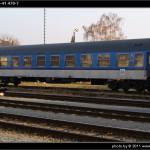 Bd 264, 50 54 29-41 470-7, DKV Brno, 18.11.2011, Šumperk, pohled na vůz