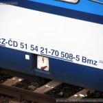 Bmz 234, 51 54 21-70 508-5, Praha ONJ Záběhlice, 5.11.2015, označení