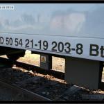 Bt 283, 50 54 21-19 203-8, DKV Olomouc, 16.07.2011, Olomouc Hl.n., nápisy na voze