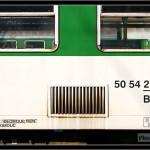 Bt 283, 50 54 21-19 208-7, DKV Olomouc, 17.04.2011, Olomouc, nápisy na voze