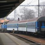 Bt 283, 50 54 21-19 312-7, 310-1, 311-0, posun s deponovanými vozy, Pradubice hl.n., 27.2.2015