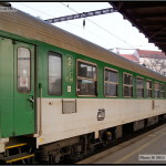 Bp 282, 50 54 21-08 456-5, DKV Plzeň, R 660 Brno-Plzeň, 16.03.2011 pohled na vůz