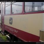 BDtax 782, 50 54 93-29 023-1, DKV Plzeň, (ex 012 186-3), 11.11.2011, Čes. Budějovice, nápisy na voze
