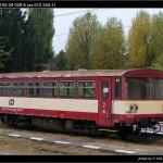 BDtax 782, 50 54 93-29 029-8 (ex 012 253-1), DKV Olomouc, 30.10.2011, pohled na vůz