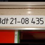Bdt, 50 56 21-08 435-7, ZSSK, označení ve voze, Horní Lideč, Os 3271, 27.3.2012