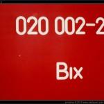 Bix 020 002-2, označení, Olomouc filiálka, 23.06.2002, scan starší fotografie