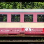 Btx 761, 50 54 29-29 309-3, DKV Olomouc, Železniční společnost Tanvald, Tanvald, 14.08.2012, pohled na vůz I