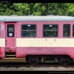Btx 761, 50 54 29-29 309-3, DKV Olomouc, Železniční společnost Tanvald, Tanvald, 14.08.2012, pohled na vůz II