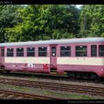 Btx 761, 50 54 29-29 309-3, DKV Olomouc, Železniční společnost Tanvald, Tanvald, 14.08.2012, pohled na vůz V