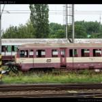 Btx 761, 50 54 29-29 314-3, DKV Olomouc, Bohumín-Vrbice, 16.06.2012, pohled na vůz před likvidací