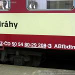 ABfbrdtn 795, 50 54 80-29 208-3, označení bez písmene r, Hradec Králové hl.n., 25.1.2015