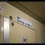 Bd 264, 50 54 29-41 409-5, DKV Brno, 18.01.2012, nápisy ve voze