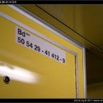 Bd 264, 50 54 29-41 412-9, DKV Brno, 05.12.2011, Sp 1773 Brno-Hodonín, nápisy ve voze